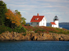 Autumn in the Air at Curtis Island Lighthouse