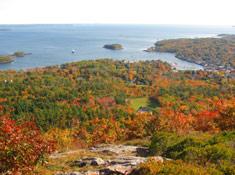 Fall's Splendor from atop Mount Battie