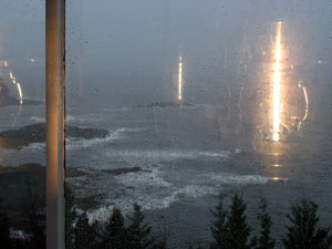 Winter's Northeast Gales begin Flexing their Muscle along Maine's Coast