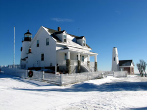 Owls Head Light's Winter Splendor
