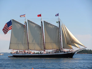 The Majesty of Sail Sparkles on Penobscot Bay