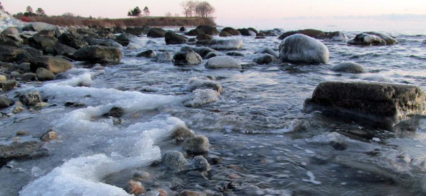 When the Winter Sea Burns Frigid