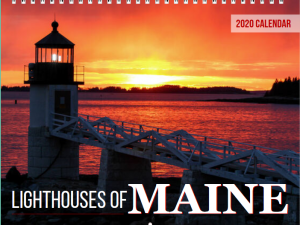 2019 Lighthouses of Maine Calendar Cover