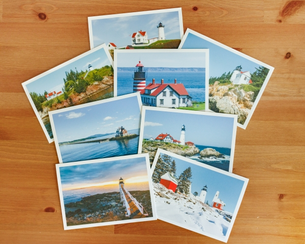 Lighthouses of Maine Note Card Set