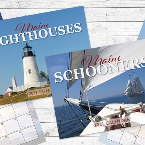 2021 Calendars Maine Lighthouse and Schooners