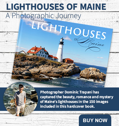 Lighthouses of Maine by Dominic Trapani