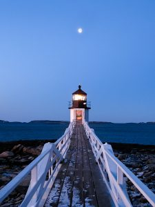 Dawn at Marshall Point Lighthouse